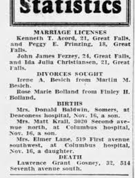Matt Krall Birth Notice of son 1936 - Newspapers.com