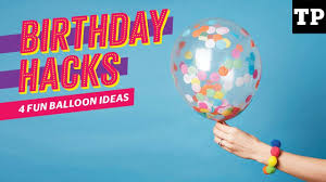4 fun balloon ideas birthday party