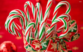 candy canes wallpapers