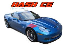 Double Bar Corvette C6 Stripes Corvette C6 Decals Corvette C6 Vinyl Graphics