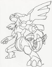 Zekrom Line Art By Neodragonarts Cute Dragon Drawing Pokemon