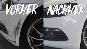 Auto Kratzer Entfernen So Macht Ihr Es Selbst Youtube