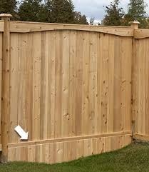 Hamilton On Postmasters Wood Fences Products Fence All Ottawa On