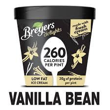 breyers delights vanilla bean low fat