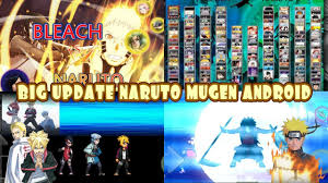 NEW BIG UPDATE! Bleach VS Naruto 3.3 MOD ALL NARUTO 175 CHARACTERS {DOWN...  in 2020