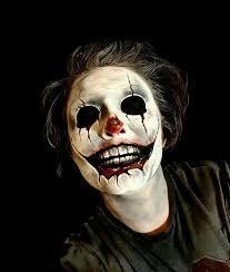 scary clown face makeup makeup