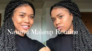 natural makeup tutorial for black s