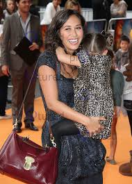 Myleene Klass; Ava Bailey Quinn The Lion King 3D - UK film premiere |  Celebrity and red carpet pictures