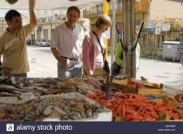 market at Capo D'Orlando Sicily Italy ...