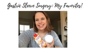 gastric sleeve surgery favorite things