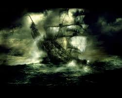 pirate ship ships pirates ghosts flying