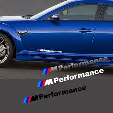 Bmw M Performance Side Door Vinyl Decal For All Bmw Makes And Models Www Knlgiftshop Com