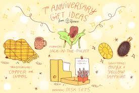 seventh wedding anniversary ideas and