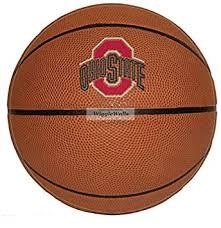 Amazon Com 8 Inch Basketball Logo Osu Ohio State University Buckeyes Removable Wall Decal Sticker Art Ncaa Home Decor 8 Inches Baby