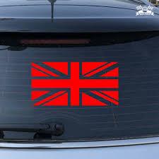 Uk British Flag Union Jack Britain Car Sticker Red Vinyl Decal 2 6 16 Ebay