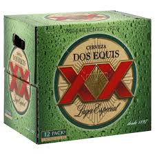dos equis lager 12 pk