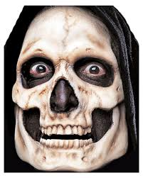 skull foam latex mask for your grim