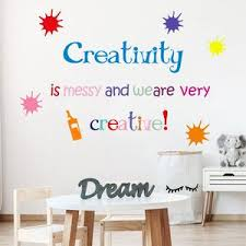 Creativity School Vinyl Wall Quotes Decal Kamiqiwallz