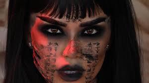 the mummy ahmanet makeup tutorial
