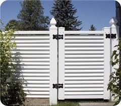 Youville Fence All Pvc Fence Vinyl Gates Fence Design