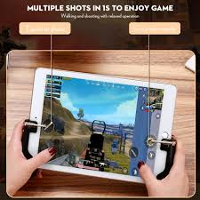 H2 Gamepad Controller for PUBG Mobile Trigger Shooter L1R1 Joystick for IPad  Air 2 3 Etc Android IOS Phone Tablet Game Handle|Gamepads