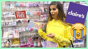full face of claires makeup kid
