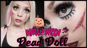 living dead doll halloween makeup