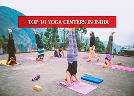 10 yoga centers in india to enlighten
