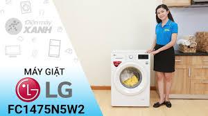 Máy giặt LG Inverter FC1475N5W2 - Sạch bong vết bẩn khó ra