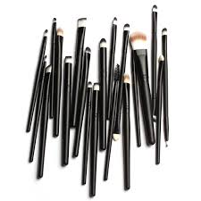powder foundation eyeshadow eyeliner