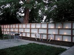 Metal Privacy Fence Ideas Decoredo