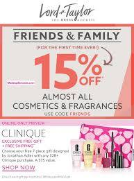 lord taylor 15 off beauty free