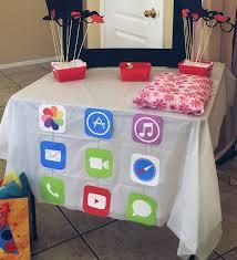 Iphone Ipad App Birthday Party Decorations Ideas De Fiesta