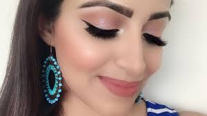 simple wedding guest makeup look for
