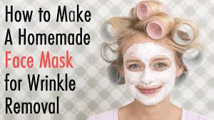 homemade face mask for wrinkle removal