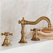 antique brass faucet sink faucets
