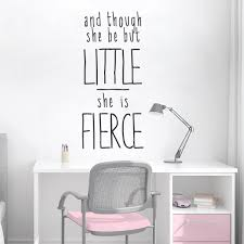Wallums Wall Decor She Is Fierce Quote Wall Decal Wayfair