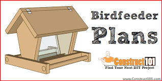 build a bird feeder free plans