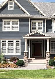 house exterior colour schemes dark blue