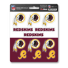 Team Promark Washington Redskins 12 Pack Decal Set In The Exterior Car Accessories Department At Lowes Com