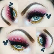 mickey mouse disney eye makeup