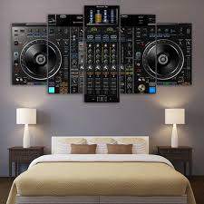 Pin By Ronome Martinez On Dj In 2020 Kids Room Wall Art Dj Room Kids Room Wall