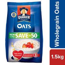 quaker oats 1 5 kg pouch at