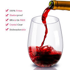 2020 shatterproof plastic wine glass