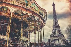 paris carousel eiffel tower