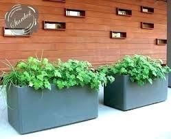 outdoor pot planters