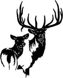 Elk Family Decal Stod 3 Vinyl Truck Window Stickers Ebay