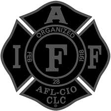 The 4 Subdued Black Iaff Union 3m Vinyl Firefighter Us Made Window Decal Empire Tactical Usa In 2020 Iaff Window Decals Firefighter