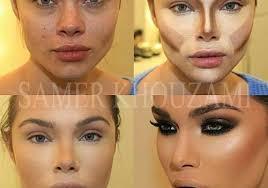 contour face makeup tutorials just