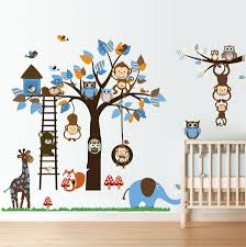 Forest Friends Wall Decal Simply Peel And Stick To Dress Up Your Bare Walls Sold By Rocky Mountain Decals On Storenvy